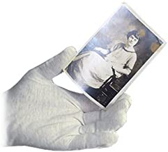Archival Methods 61-002 White Cotton Gloves Large 12 Pairs