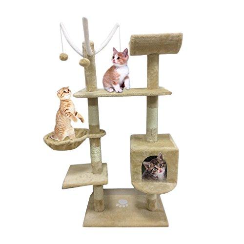 Homgrace - Tiragraffi per gatti, per far rilassare e giocare i gatti