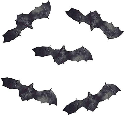 Fantasia Acessório Kit Mini Morcego Halloween Blister com 06 Brasilflex