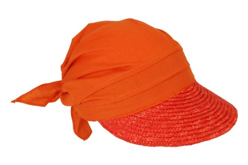 Seeberger Damen Cap 51175, Gr. one size , Orange (0034 papaya)