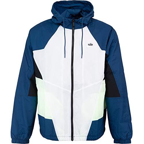 Nike Signature Windbreaker Jacke (S, Blue/White)