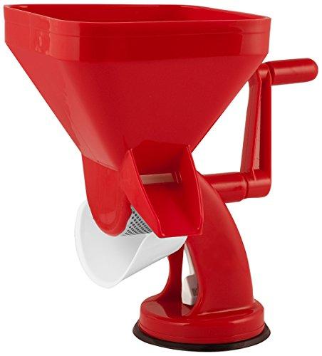 Ho-Me In Rombo Home Maxi Exprimidor de Tomates Manual, Plástico, Rojo