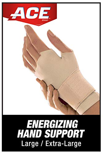 ACE - 203062 Energizing Hand Support, Provides support to stiff, weak or injured wrist