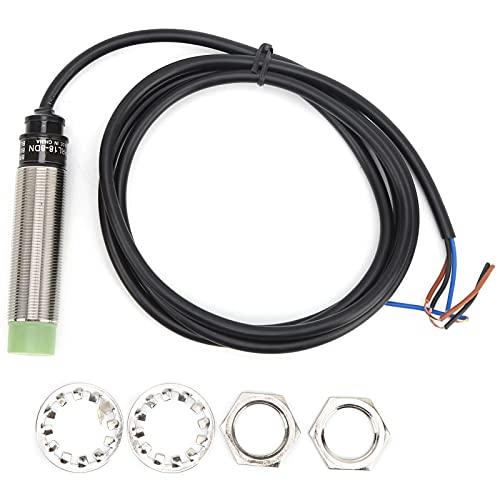 VINGVO Interruptor de aproximación, Interruptor de aproximación cilíndrico de Amplio Rango de Voltaje para Bricolaje para fábrica para máquina Herramienta