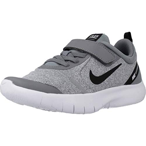Nike Jungen Flex Experience Rn 8 PSV Leichtathletikschuhe, Mehrfarbig (Cool Grey/Black/Reflect Silver/White 003), 29.5 EU