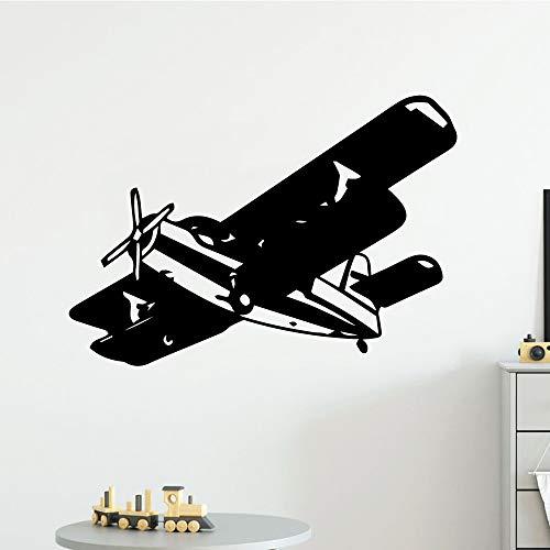 Tianpengyuanshuai Kleurrijke helikopter muursticker vinyl waterdicht wandtattoo woonkamer slaapkamer wandsticker waterdicht behang