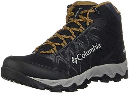 Columbia Peakfreak X2 Mid Outdry, Botas de Senderismo Hombre, Negro (Black, Elk 010), 40.5 EU