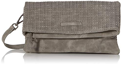 MARCO TOZZI Damen 2-2-61021-23 Clutch, Grau (Grey Antic), 5,5x14,5x29,5 cm