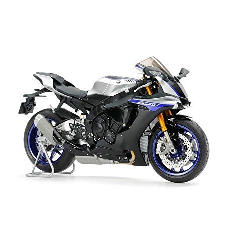 TAMIYA 14133 - 1:12 Yamaha YZF-R1M, Modellbau, Plastik Bausatz, Hobby, Basteln, Kleben, Modellbausatz, Modell, Zusammenbauen