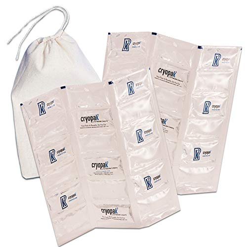 Cryopak Flexible Lot de glace pour lait maternel Cooler Couverture (ICE) (lot de 2)