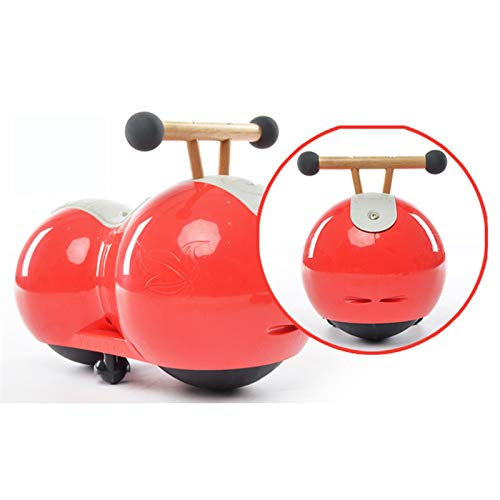 Caminante del bebé, bebé Equilibrio Vespa, 360 ° rotación libre, equipado con estabilizadora auxiliar ruedas, Protejamos a los niños for disfrutar de una niñez feliz, montar a caballo de juguete de re ⭐
