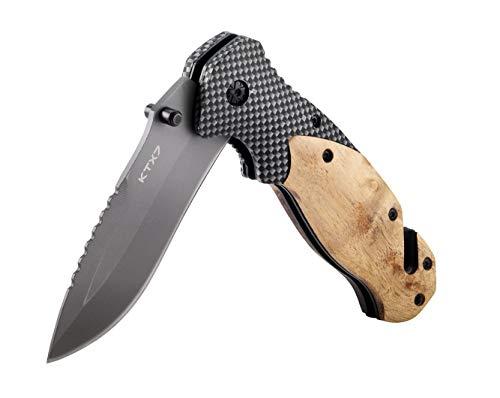 KTX7® Messer Klappmesser Taschenmesser M8