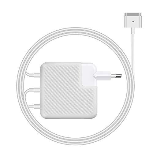 Chargeur MacBook Air Magsafe 2, 45W Chargeur en T Magnétique Compatible avec MacBook Air 11'' et 13 Pouces, (Mi-2012 ou Plus Tard)