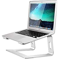 Soundance 10-15.6 Inch Aluminum Computer Riser Ergonomic Laptop Stand with Mac MacBook Pro Air, Lenovo, HP, Dell, More