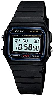 Casio Vintage Round Casual Watch for Men model F-91W