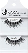 UKARA 100% Human Hair Natural False Eyelashes (#K-EL-D-WISPY-12 Pack) Fake Lash Makeup
