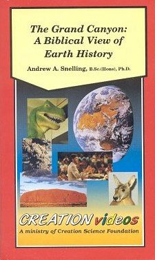 Lowest Prices! Andrew Snelling, The Grand Canyon: A Biblical View of Earth History (VHS) Catastrophi...