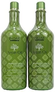 Inoar Professional Argan Oil Shampoo/Conditioner 1l/33.8oz Set