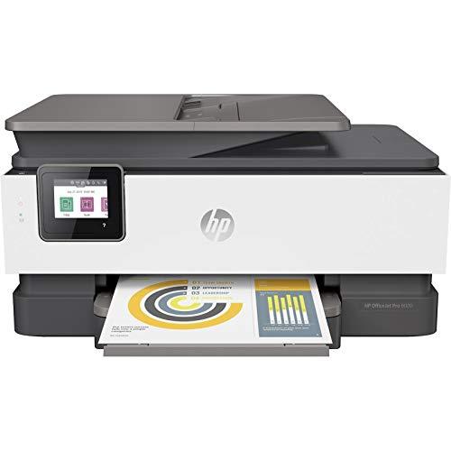 HP OfficeJet Pro 8022 Imprimante Multifonction (HP Instant Ink, imprimante, Scanner, copieur, fax, Wi-FI, LAN, Duplex, HP ePrint, Airprint, avec 9 échantillons d'encre HP Instant Ink incluve) Basalt