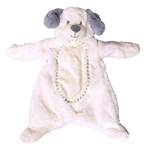 Kelly Toy Baby 16 inch Plush Flattie Puppy Dog with Crinkle and Rattle