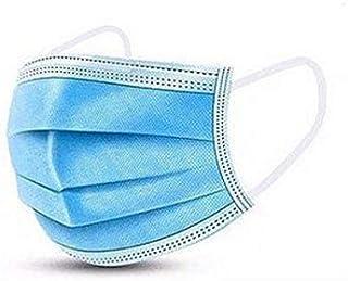 Máscara cirúrgica descartável tripla - AZULMED pacote com 50 unidades