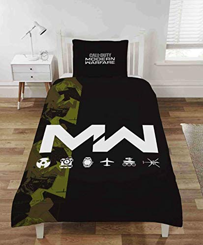 CnA Stores Call Of Duty Modern Warfare Single Duvet Cover Bedding Set With Pillow Case