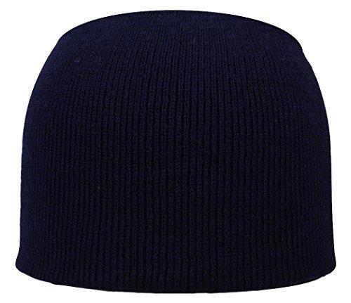Bonnet homme basic en bleu marin