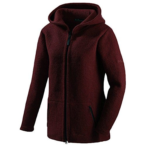Mufflon Damen Walk-Long-Jacket MATA Bordeaux L (44)