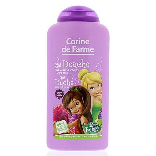Corine De Farme - Gel Douche Corps Et Cheveux Princesses/Fairies 250Ml - Lot De 4 - Livraison Gratuite