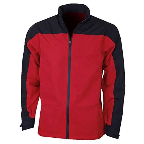 Callaway New Blockd Waterproof Jacket Blouson De Sport, Rouge (Rojo 613), X-Large Homme