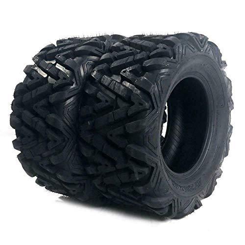 TRIL GEAR Set of (2) ATV UTV Tires 27x11-12 27x11x12 Rear 6PR All Terrain Tubeless