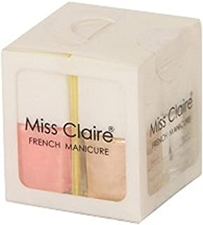 Miss Claire Miss Claire French Manicure Kit (4 X 1), Multi, 36 Milliliters, Multicolor, 36 ml