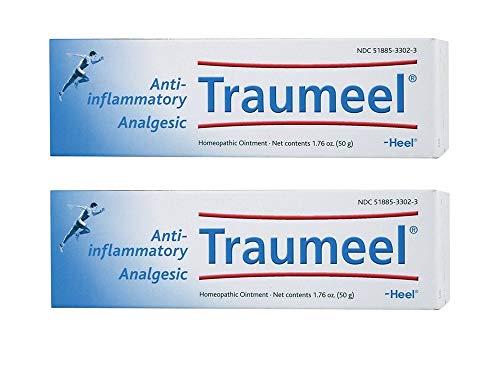 Heel Traumeel S Cream Tube - Pain Relief, 50 Grams (Pack of 2)