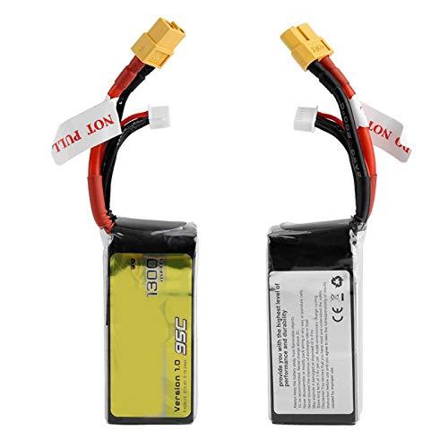 SALUTUYA Batería 4S1P de tamaño Compacto para el Mercado de Drones/FPV/Drones con Enchufe XT60-SYP