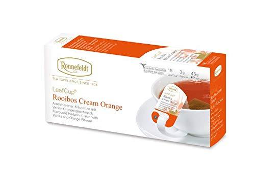Ronnefeldt Leafcup Cream Orange