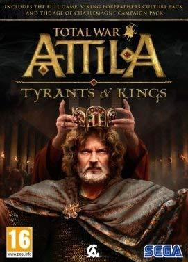 SEGA Total War: ATTILA - Tyrants & Kings Básico + complemento PC Inglés vídeo - Juego (PC, Estrategia, Modo multijugador)