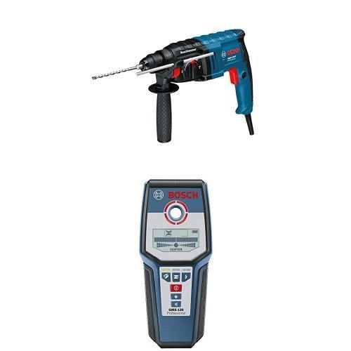 Bosch Professional GBH 2-20 D Bohrhammer mit SDS-plus (bis 20 mm Bohr-Ø, Koffer) + Bosch Professional Multidetektor