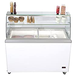 Best Choice for Best Ice Cream Dipping Cabinet: Chef's Exclusive Commercial 8-Flavor Ice Cream Dipping Cabinet