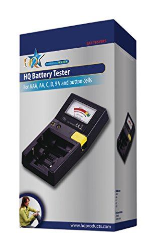 Testeur de piles pour AAA, AA, C, D, 9V, N et piles boutons