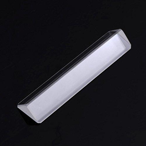 Catyrre K9 Optisches Glas, rechtwinklig reflektierendes dreieckiges Prisma zum Lehren des Lichtspektrums