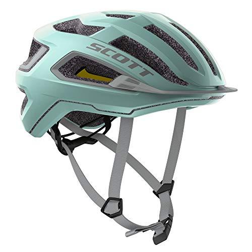 Scott Arx Plus Rennrad Fahrrad Helm surf blau 2021: Größe: S (51-55cm)