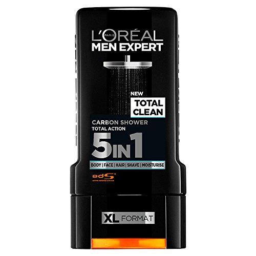 L'Oréal Men Expert Shower Gel 300ml Total Clean, Single Unit