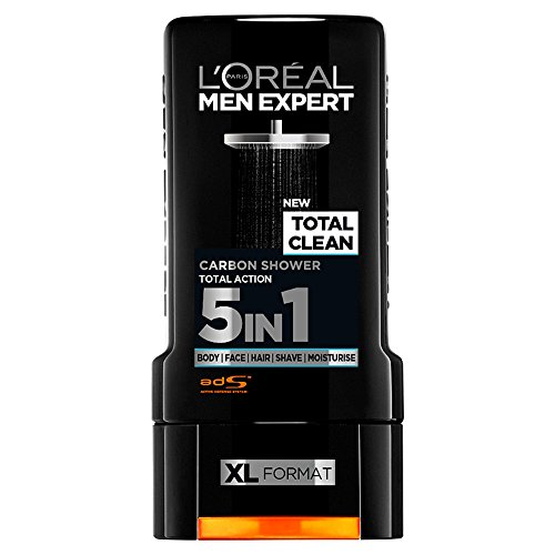 L'Oreal Men Expert Total Clean Shower Gel, 300ml