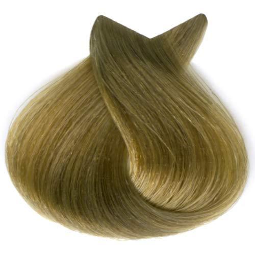 Tahe Organic Care Dauerhafter Farbstoff Haar-Farbe, Nein.8.31 Light Golden Ash Blonde, 100 ml