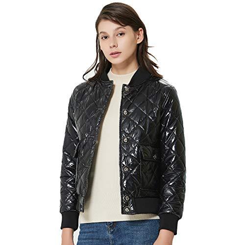 Bomber Jacket, Waterproof Jackets Women, Fall Winter Baseball Jacket Outwear, Running Jacket
