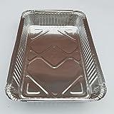 PPuujia Aluminiumfolie Grill-Ölwanne Weber Tropfpfanne Einweggrill Ölpfanne (Farbe: 410 ml)