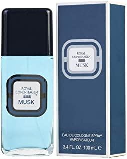 Royal Copenhagen Musk Eau De Cologne Spray 3.4 oz