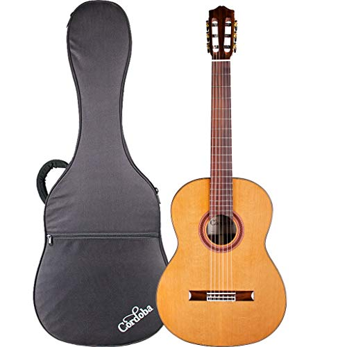 Cordoba C7 CD Acoustic Nylon String Classical Guitar with Cordoba Polyfoam Case