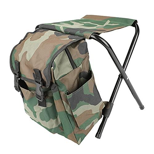BestFire Borse per sedie da campeggio Zaino Pieghevoli per sedie da pesca Borse Sgabelli da campeggio Zaini da pesca per campeggio Picnic Caccia Pesca Escursionismo Spiaggia BBQ