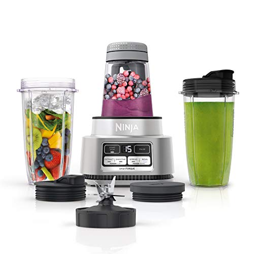 Ninja Foodi SS101 Smoothie Bowl Maker and Nutrient Extractor* 1200WP smartTORQUE 4 Auto-iQ Presets. One base, multi-functions